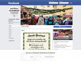 https://www.facebook.com/JulmarknadIKvarteretSanktGertrud/